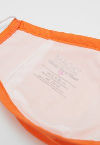 MAGIC Bodyfashion - FACE MASK - Stoffen mondkapje - orange - 3