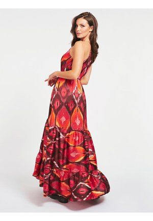 Maxi dress - orange mehrfarbig