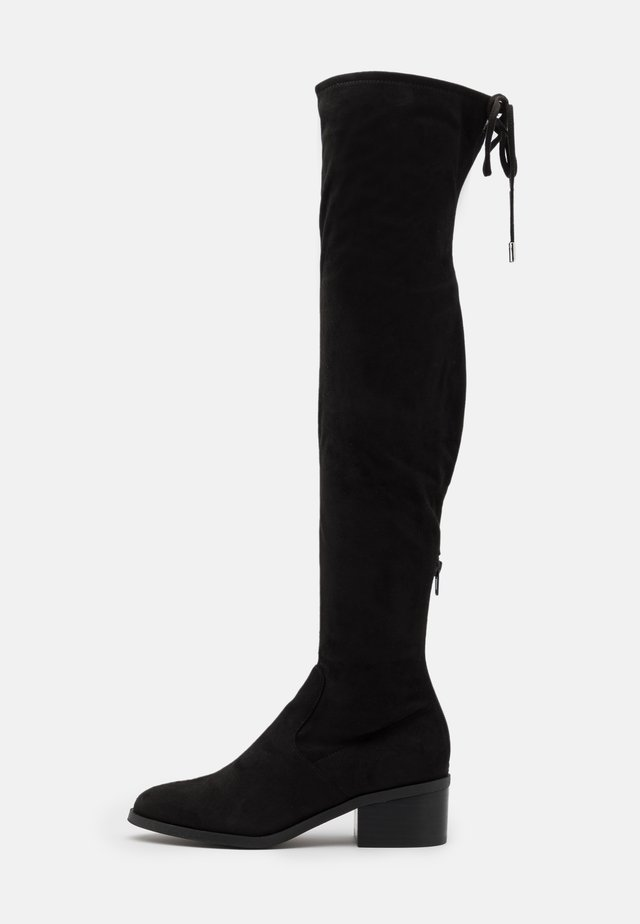GERARDINE - Over-the-knee boots - black