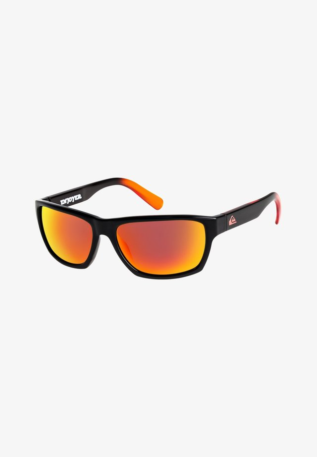 ENJOYER - Sunglasses - shiny black/ml red