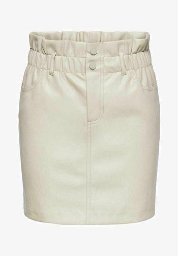 A-line skirt - pumice stone