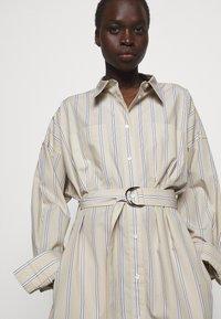 3.1 Phillip Lim - STRIPED BUTTON UP SHIRT DRESS - Shirt dress - tan - 4