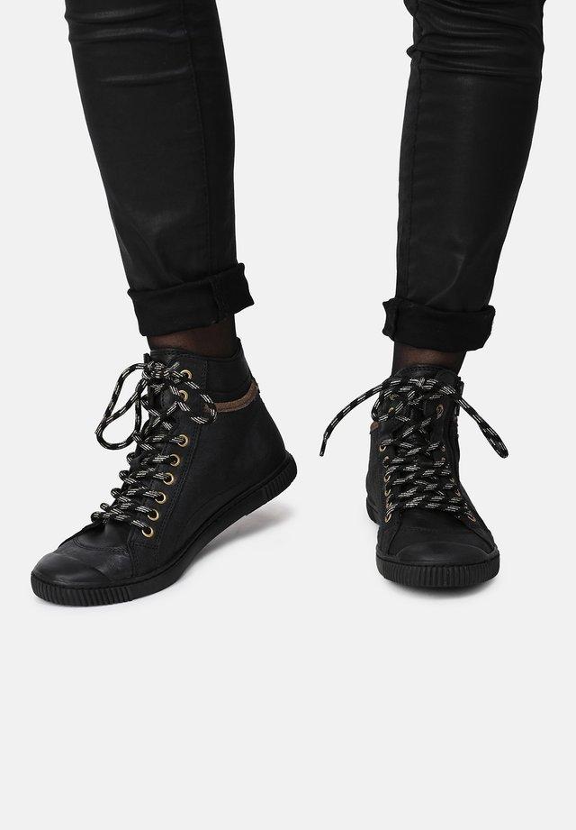 BONO - Sneakersy wysokie - black
