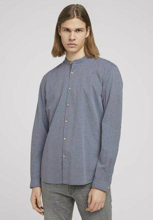 Skjorta - dark blue x dobby
