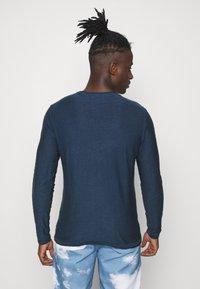 Blend - Stickad tröja - dark denim - 2