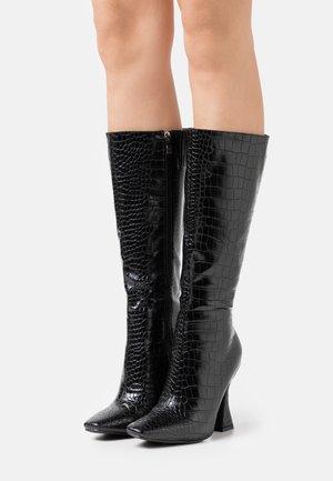 WIDE FIT ANGELIQUE - Boots - black