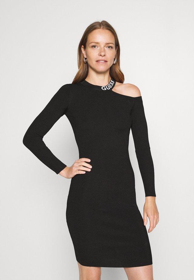 CAROL DRESS  - Shift dress - jet black