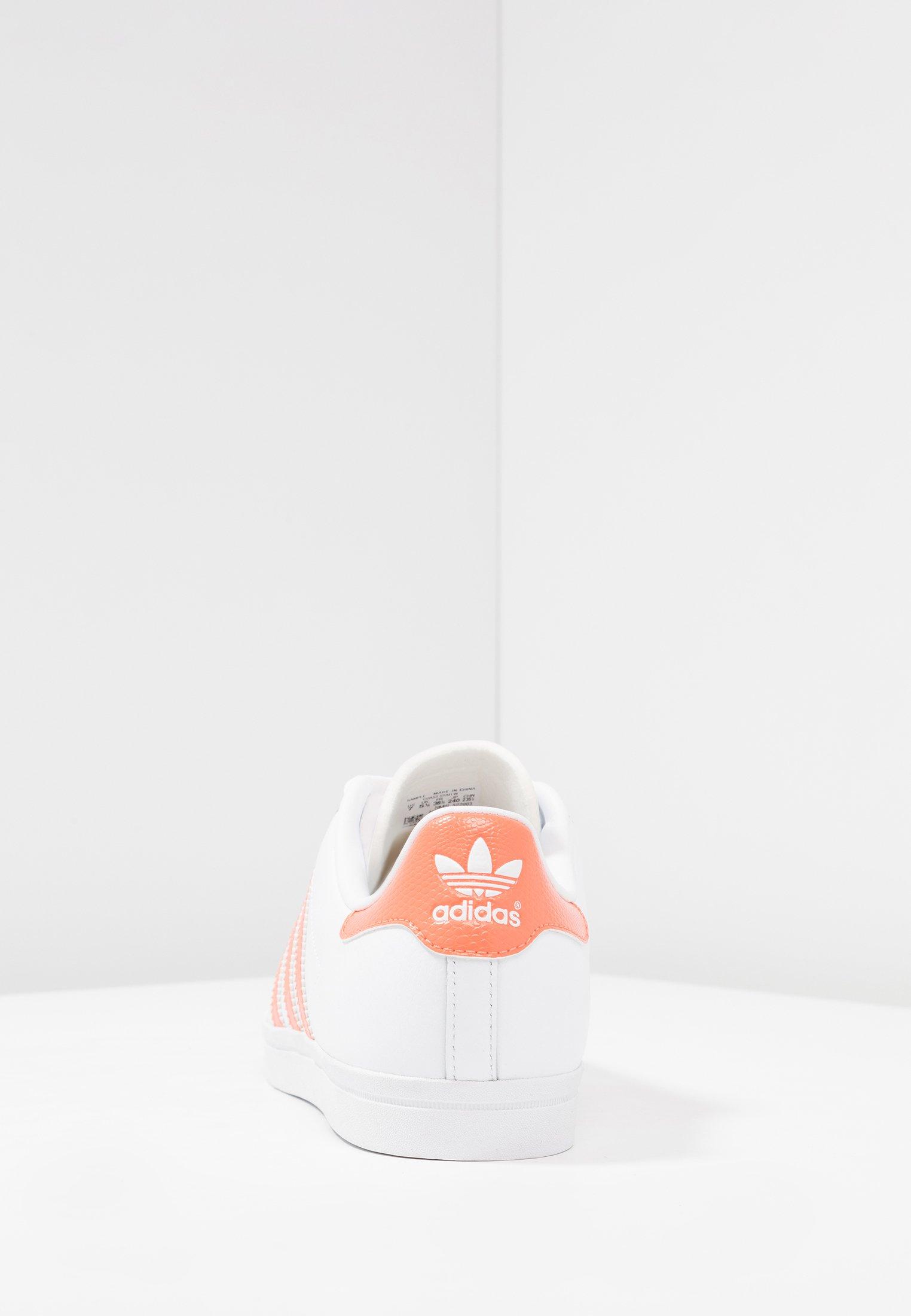 adidas Originals COAST STAR STREETWEAR-STYLE SHOES - Joggesko - footwear white/semi coral