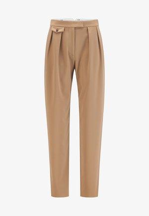 TRANPA - Trousers - light brown
