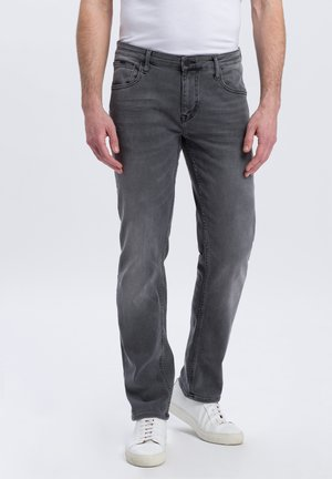 DAMIEN - Straight leg jeans - grey denim