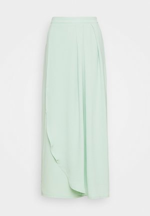 VIRASHA ANCLE SKIRT - Wrap skirt - cameo green