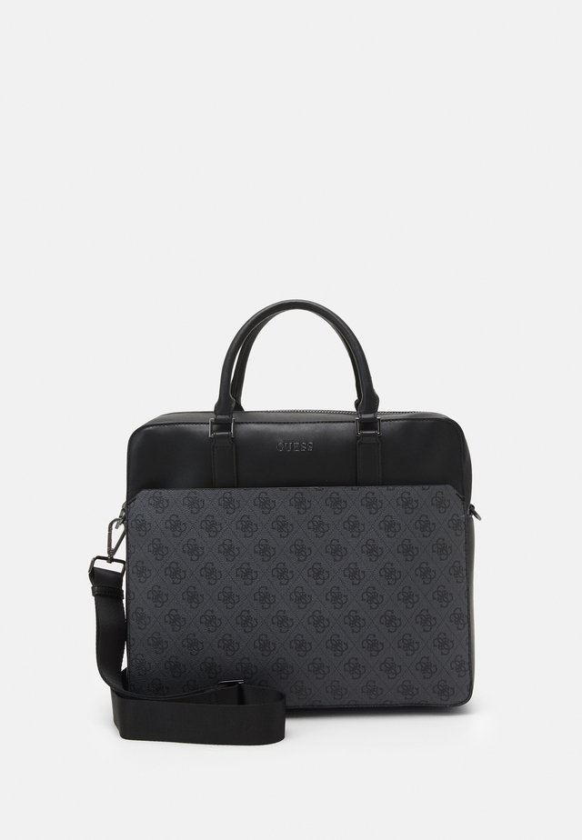 VEZZOLA BRIEFCASE UNISEX - Torba na laptopa - black