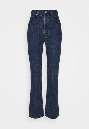 WLTRD 70S HIGH STRAIGHT - Straight leg jeans - indigo flower