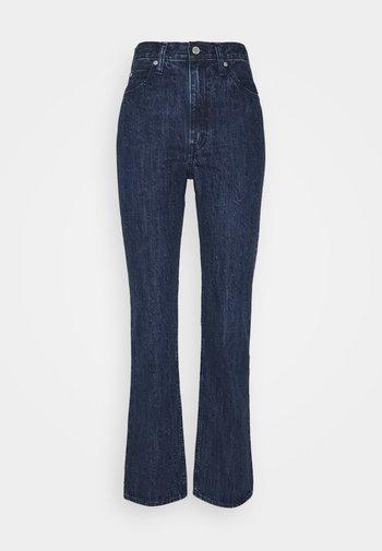 WLTRD 70S HIGH STRAIGHT - Jeans a sigaretta - indigo flower