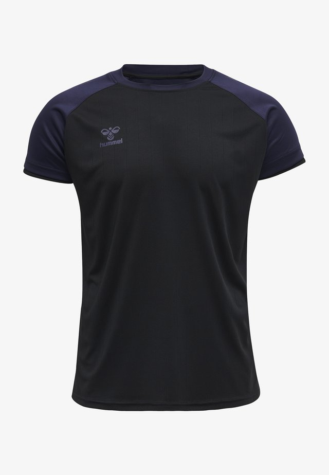 T-shirts basic - black/marine