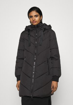 JDYSKYLAR PADDED HOOD JACKET - Winter coat - black