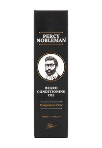 Percy Nobleman - BEARD OIL - Huile à barbe - original fragrance free - 1