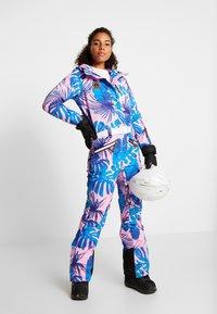 OOSC - MIAMI VICE FEMALE FIT - Spodnie narciarskie - multi-coloured - 1