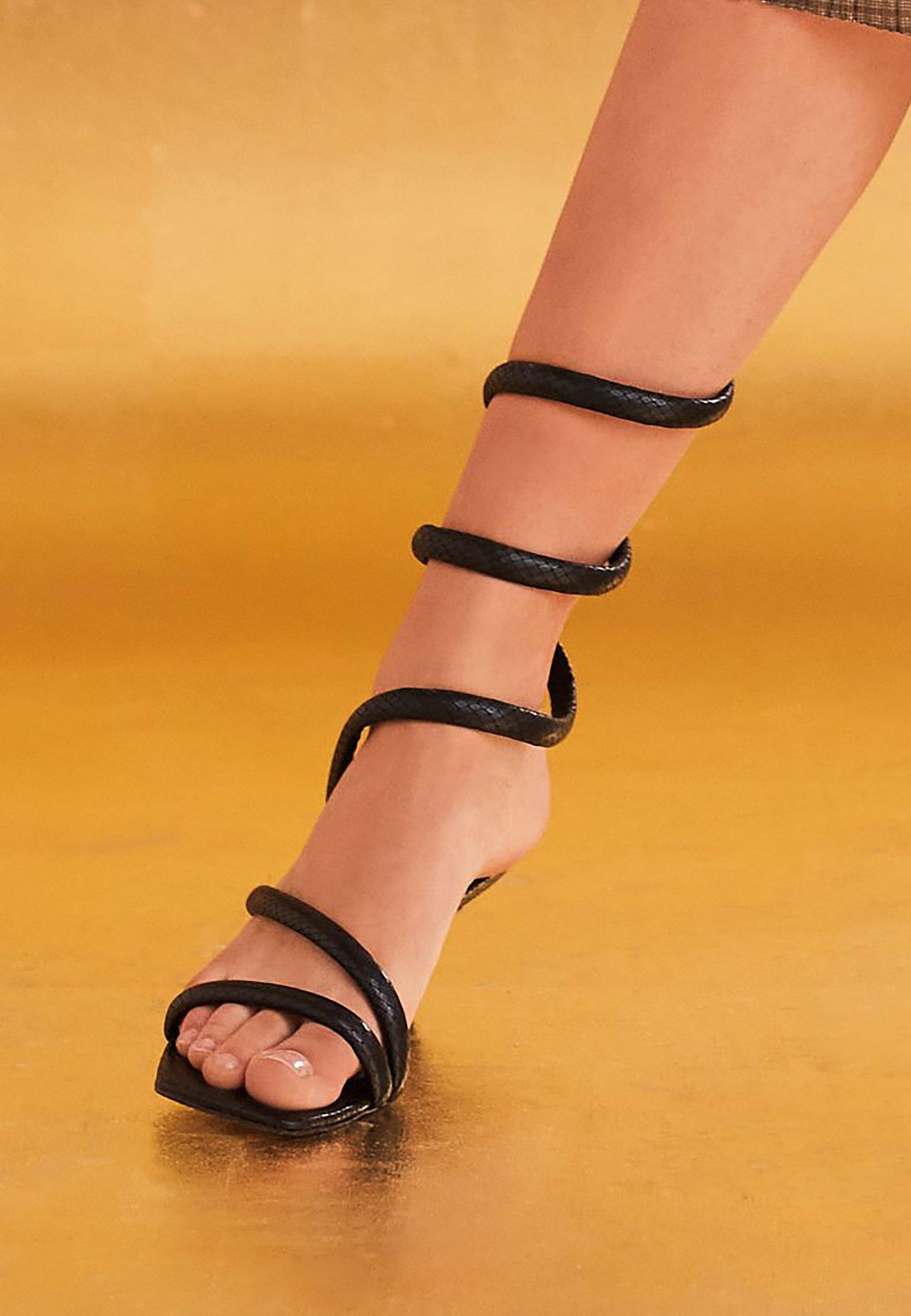 Next High Heel Sandalette black/schwarz