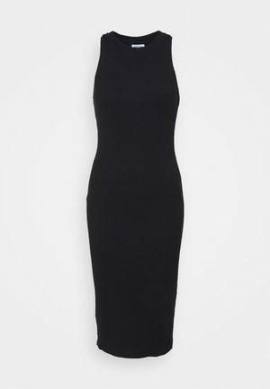 VMLAVENDER CALF DRESS - Vestido de punto - black