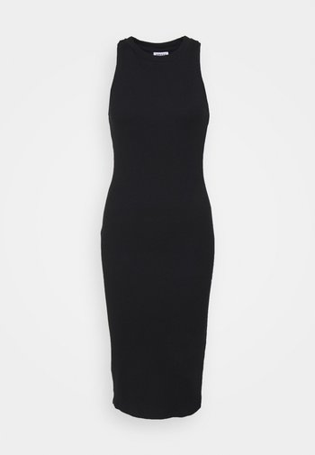 VMLAVENDER CALF DRESS - Strickkleid - black