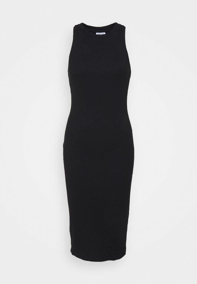 VMLAVENDER CALF DRESS - Neulemekko - black