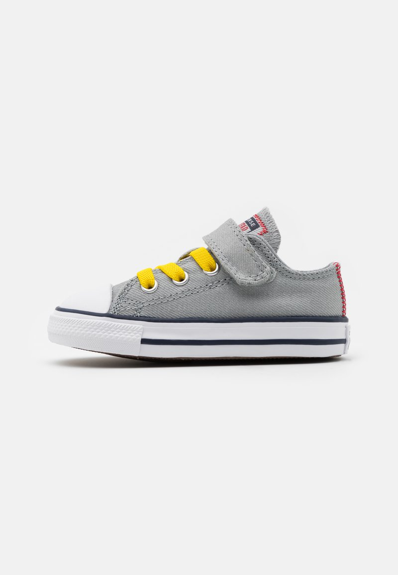Converse - CHUCK TAYLOR ALL STAR  - Trainers - ash stone/university red/speed yellow