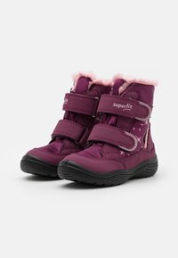 Superfit - CRYSTAL - Winter boots - rot/rosa - 1