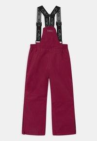 CMP - SALOPETTE UNISEX - Spodnie narciarskie - magenta - 1