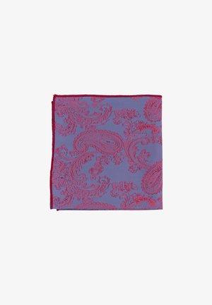 B/R SHELBY - Pocket square - blau/rot