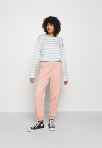 Monki - MAJA 2 PACK - Long sleeved top - blue/pink - 0