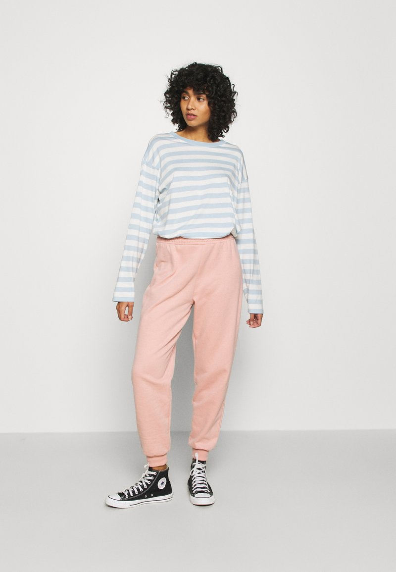 Monki - MAJA 2 PACK - Long sleeved top - blue/pink
