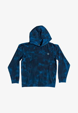 Hoodie - blue sapphire tie dye