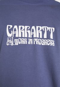 Carhartt WIP - REMOVALS - Printtipaita - cold viola/white - 5