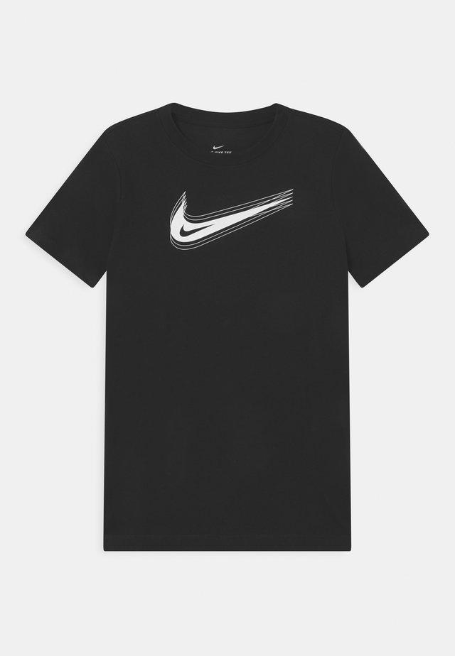 UNISEX - T-shirt print - black/white