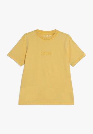 JUNIOR UNISEX OVERSIZE  - Jednoduché triko - gold rush yellow