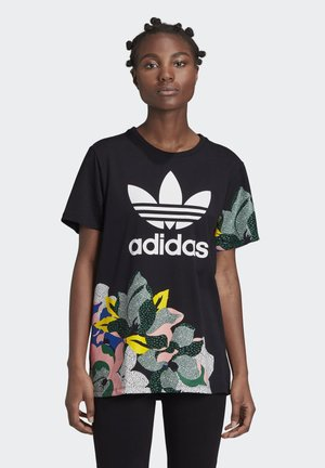HER STUDIO LONDON LOOSE T-SHIRT - T-shirts med print - black