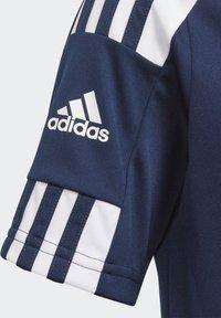 adidas Performance - SQUAD UNISEX - Camiseta estampada - team navy blue/white - 1