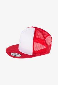 Flexfit - Cap - red/white/red - 2