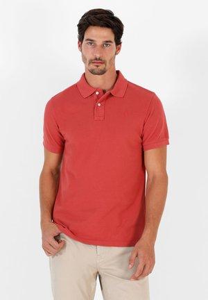 Polo shirt - terracotta