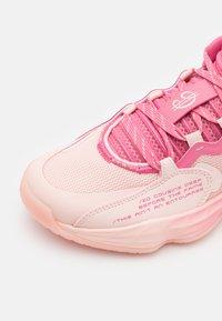 adidas Performance - DAME 7 EXTPLY BASKETBALL LILLARD LIGHTSTRIKE SHOES MID - Basketball shoes - pink - 5