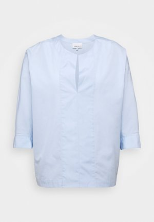 POPLIN DOLMAN SLEEVE - Blůza - oxford blue