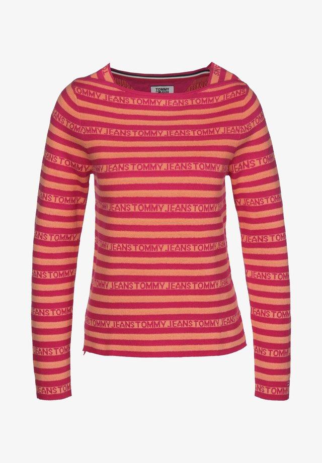 Sweatshirt - blush red/melon orange