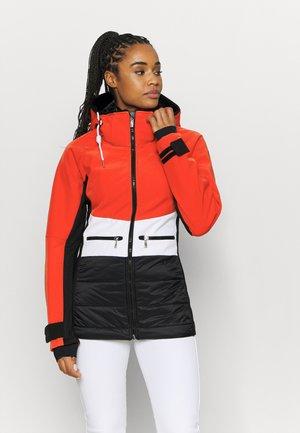 ELY - Ski jacket - coral red