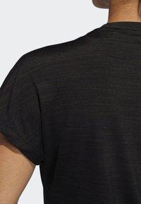 adidas Performance - BADGE OF SPORT T-SHIRT - Print T-shirt - black - 4