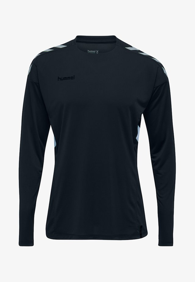 TECH MOVE - Langærmede T-shirts - black