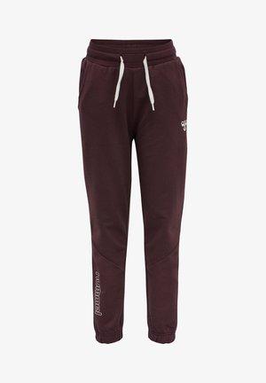 HMLNUEVE - Spodnie treningowe - fudge