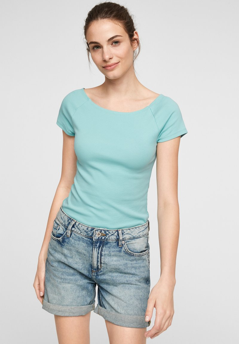 QS by s.Oliver - Basic T-shirt - turquoise