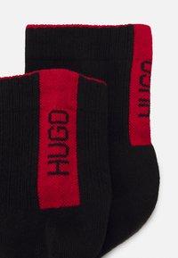 HUGO - LOGO 2 PACK - Ponožky - black - 1