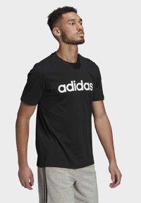 adidas Performance - T-shirts print - black - 2